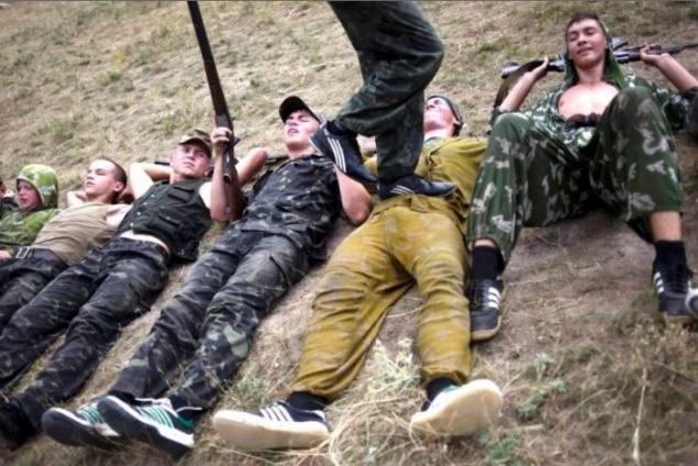 Teen Military Camp 61
