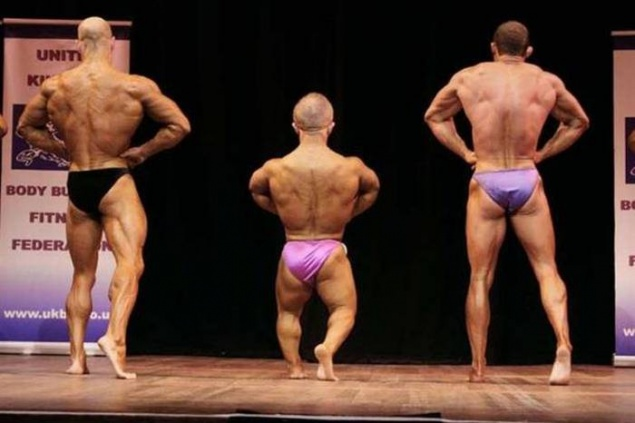 Midget male hypertrophy