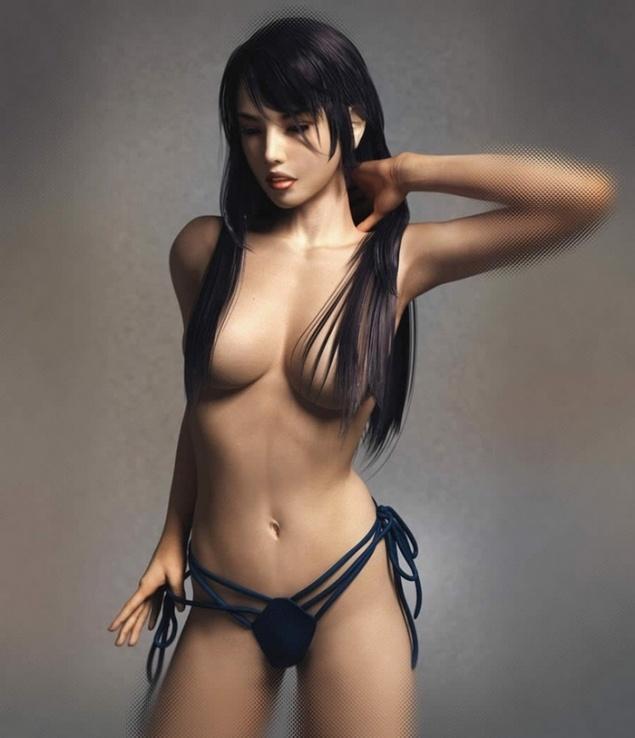 Самые красивые девушки, созданные на компютере 2 / The most beautiful CG gi