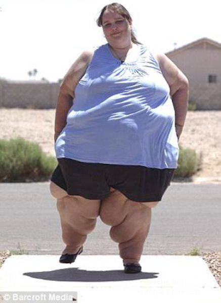 Фото самых толстых девушек в мире