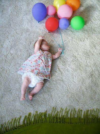 Идеи для фото детей до года