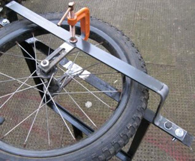 Как сделать большое колесо своими руками