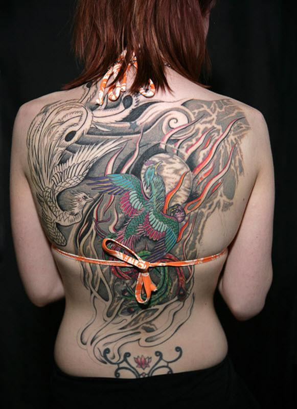 英国展会纹身