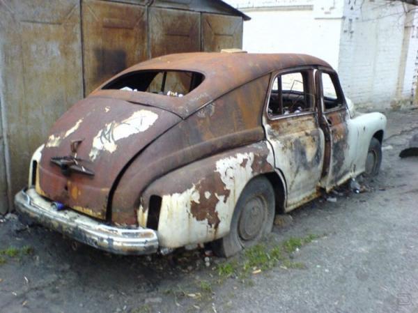 фото заброшеных автомобилей
