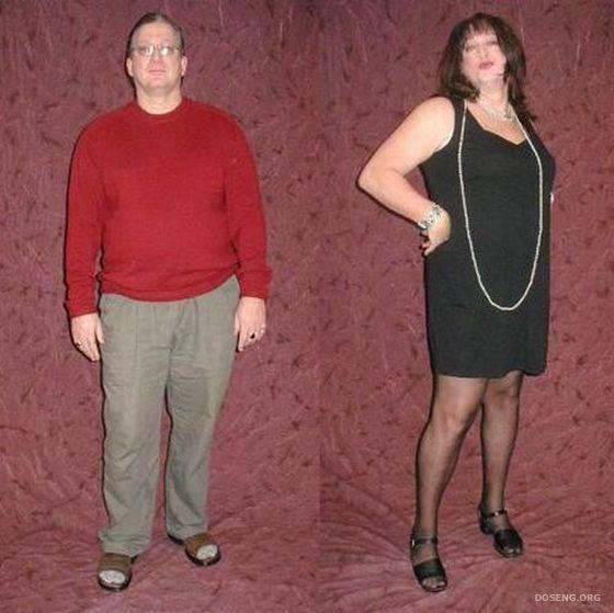 Как девушке переодеть парня в женскую одежду 148