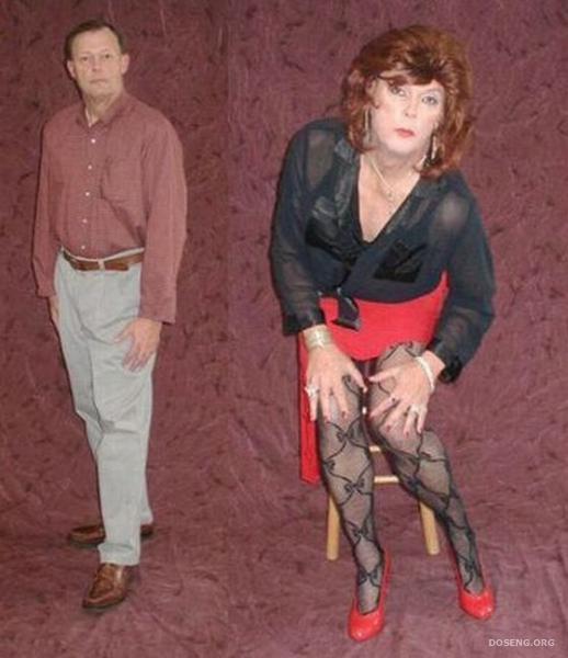 Как девушке переодеть парня в женскую одежду 191