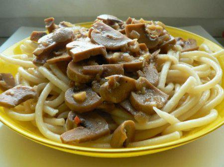 видео рецепты макароны с курицей #12