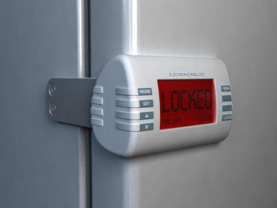 Lock On The Refrigerator Page 1