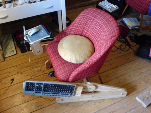 Как сделать своими руками кресло из мешка