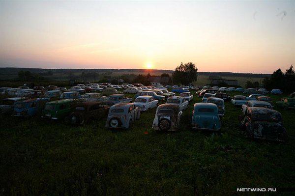 cementerio coche: