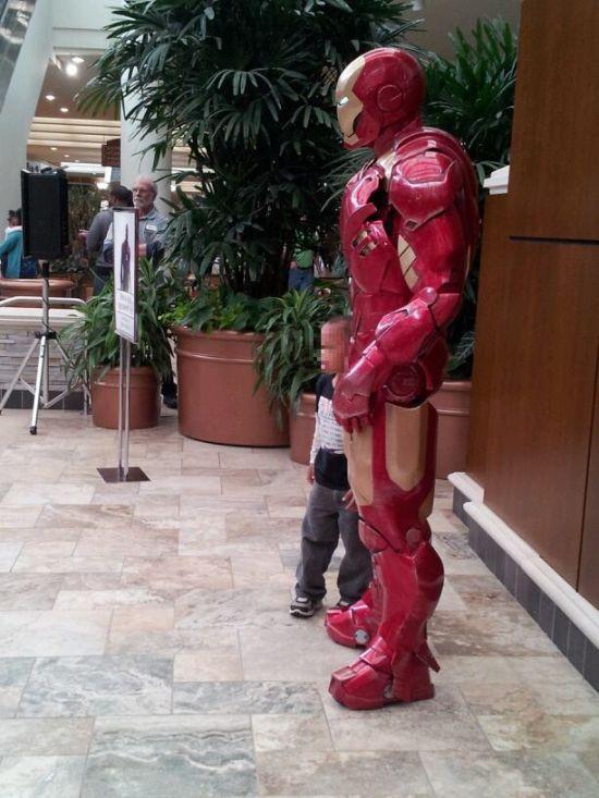 Видео костюм железного человека своими руками