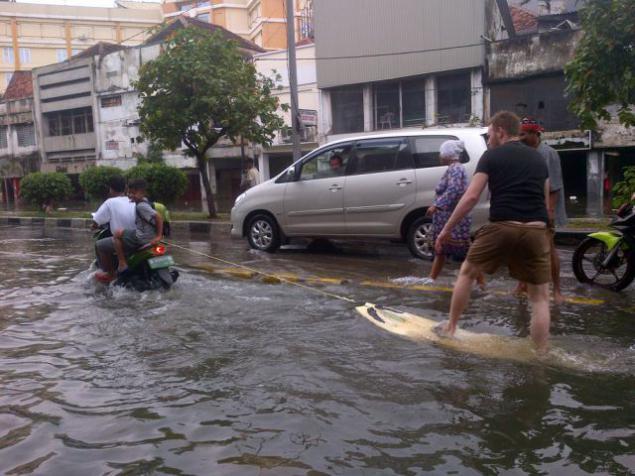 Прикольные картинки про потоп