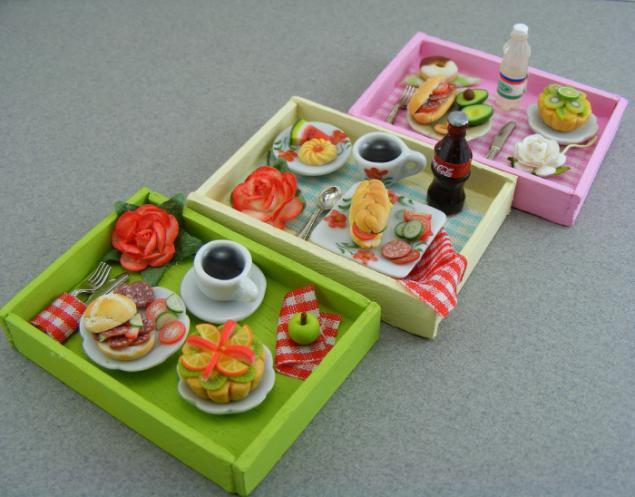 Поделка для кукол еда