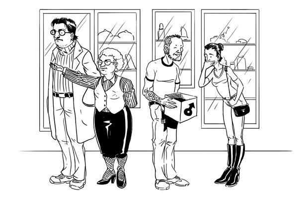 Как всё устроено: сотрудник секс-шопа - Новости Дня на 21.01.14
