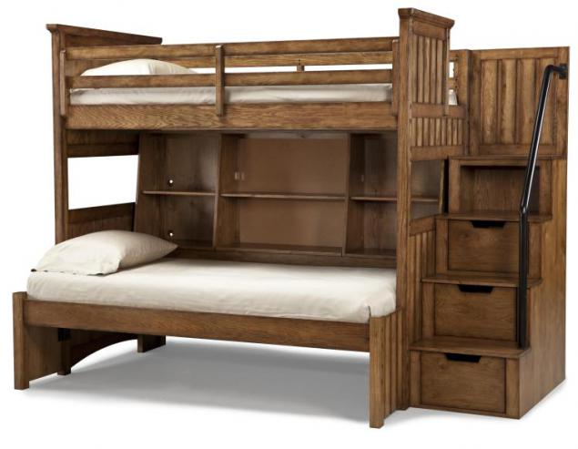 Wooden murphy bunk beds wall beds