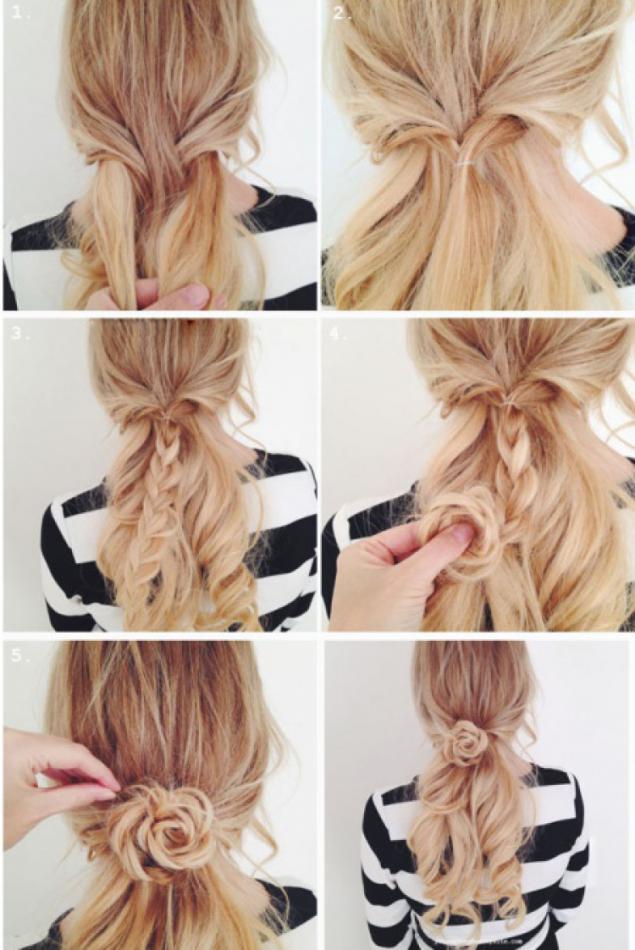 Простые прически на средние волосы своими руками за 5 минут - Dmitrykabalevsky.ru
