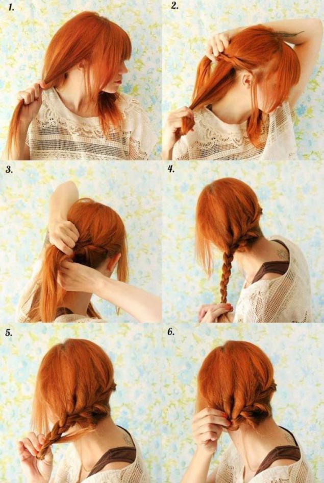Клевые прически на короткие волосы