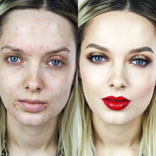 Как лицо сделать белым
