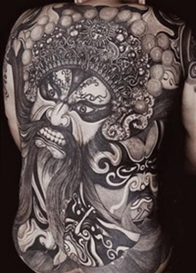 搜索结果 如龙纹身是不同的.