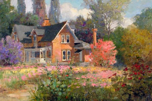 Warm Impressionism In Paintings By Kent Wallis Kent
