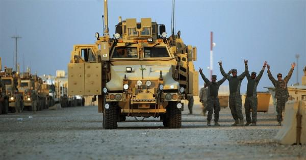 the withdrawal of the final 500 troops from iraq