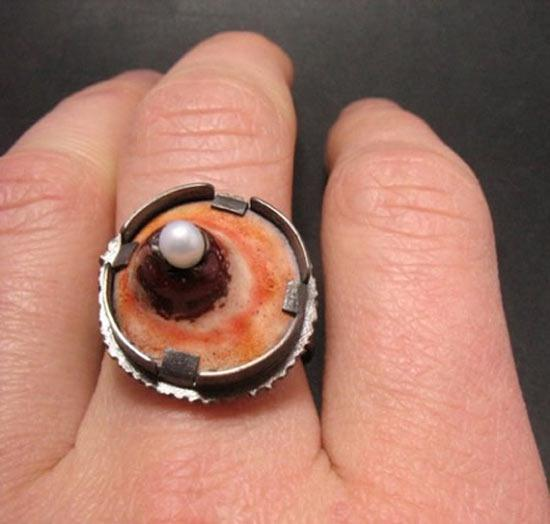 The Most Disgusting Piece Of Jewelery A Ring In The Form Of A