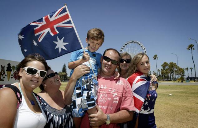 australian people