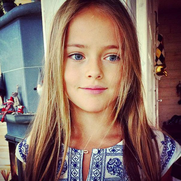 Christina Pimenov - 9-year-old star of fashion magazines  Page 1
