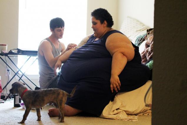 Betty jo perdiendo peso