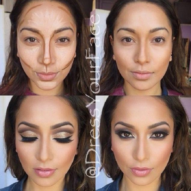 Этапы нанесения макияжа - Дневник