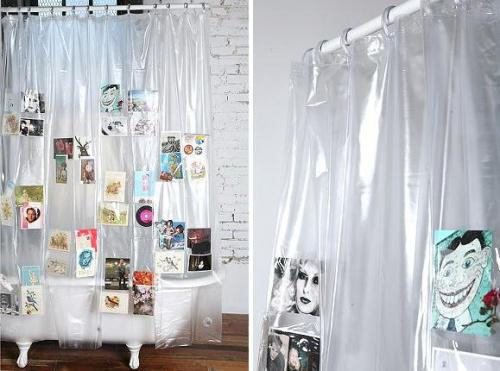 Quote shower curtains