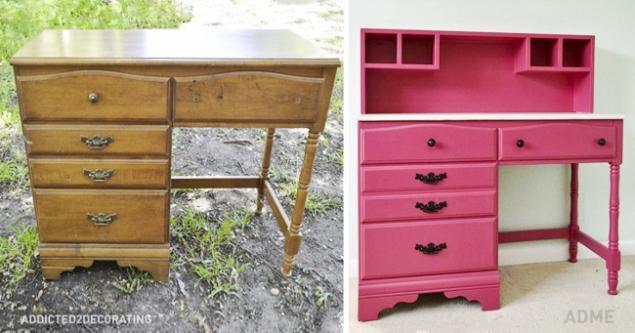 15 buenas ideas para rehacer muebles viejos. Página 1