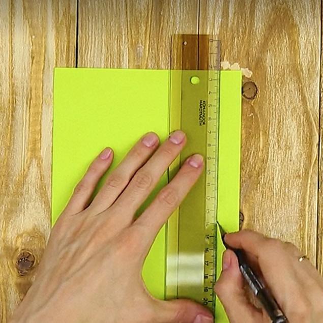 Как сделать простой карандаш своими руками