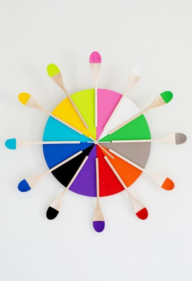 15идей для фантастических настенных часов, которые можно сделать своими руками - Страница 2 из 4