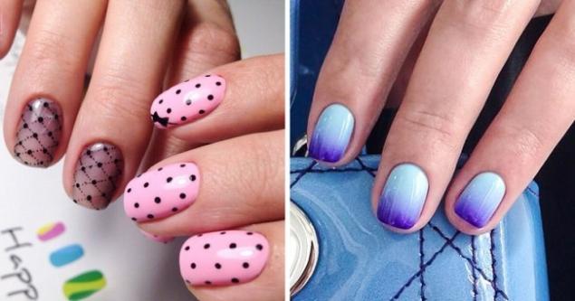 Идеи маникюр на короткие ногти дизайн