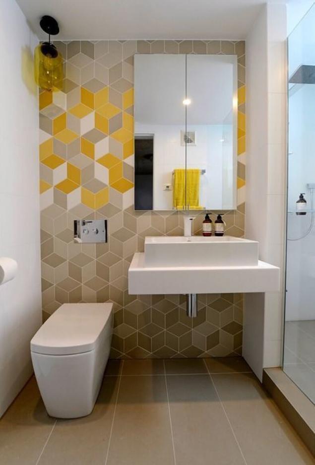 Интерьеры ванных и туалетных комнат