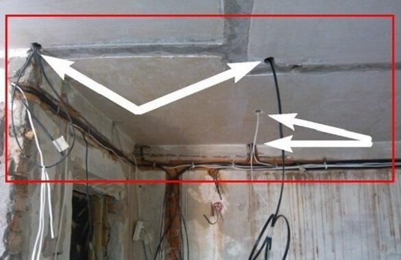 Features of installation of electric wiring in the premises of ...