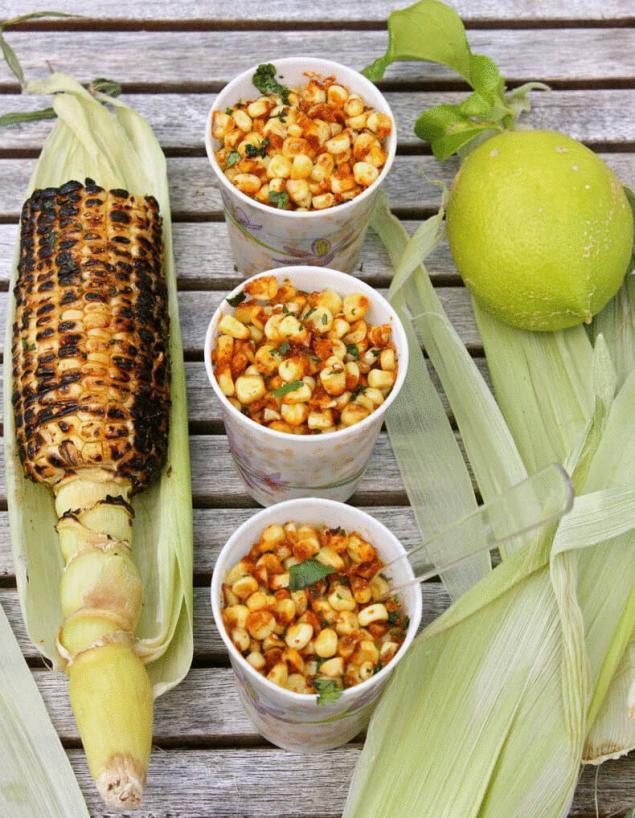 Блюда из кукурузы рецепты с фото