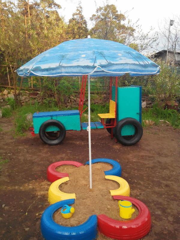 Как сделать детскую площадку своими руками для детского сада