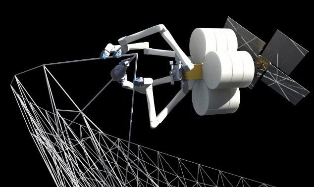 Spider robot from nasa