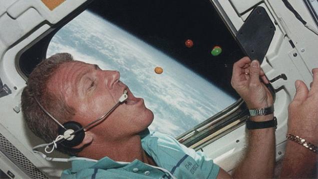 White nasa astronaut uniform