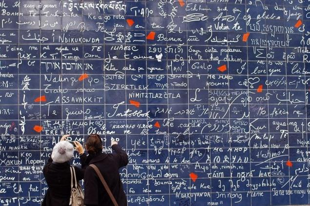 La Pared Del Amor En Paris Pagina 1