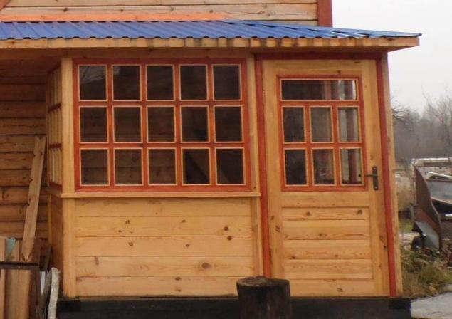 Дачные деревянные окна своими руками 31