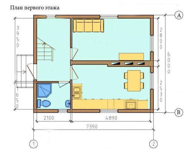 Cтроим каркасный дом своими руками (56 фото)
