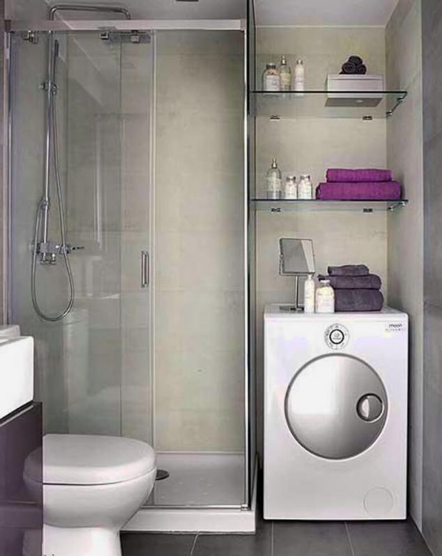 10 trucos, como hacer un pequeño cuarto de baño visualmente más ...