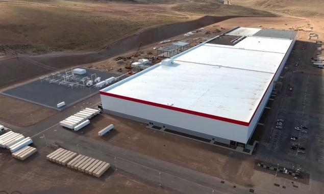 Tesla started production of lithium-ion batteries on Gigabit