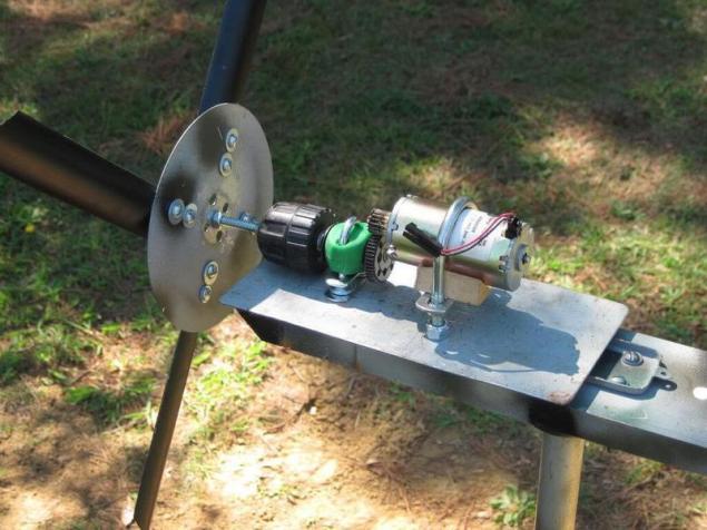 Ветряной электрогенератор своими руками