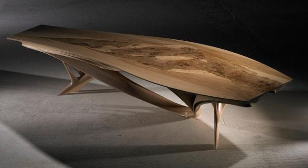 Increíbles mesas de madera. Página 1