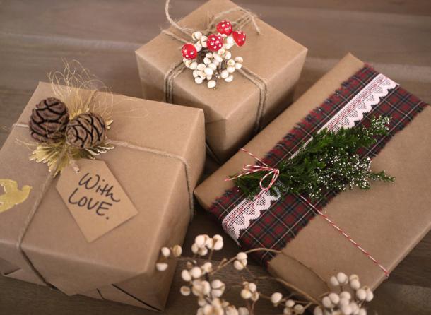 Как красиво упаковать подарки своими руками на новый год