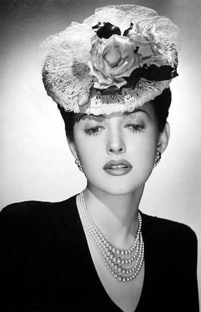 Шляпы с вуалью 158